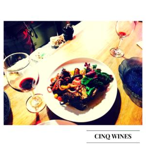 Cinq wines- vinos boutique en Guatemala- restaurante mercado 24 chuleton