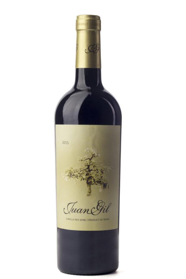 Cinq wines- vinos en Guatemala- Juan Gil amarillo