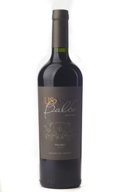 Cinq wines- vinos en Guatemala- Susana Balbo signature malbec